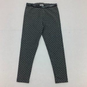 Toughskins | Girl's Leggings | Grey | Polka Dots